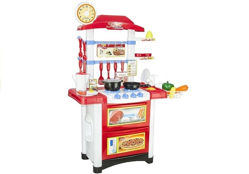 Spielkuche fur kleine kochin 32 elemente sound und for Wasserhahn spielküche