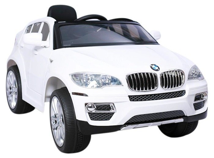 elektroauto f r kinder bmw x6 wei ebay. Black Bedroom Furniture Sets. Home Design Ideas