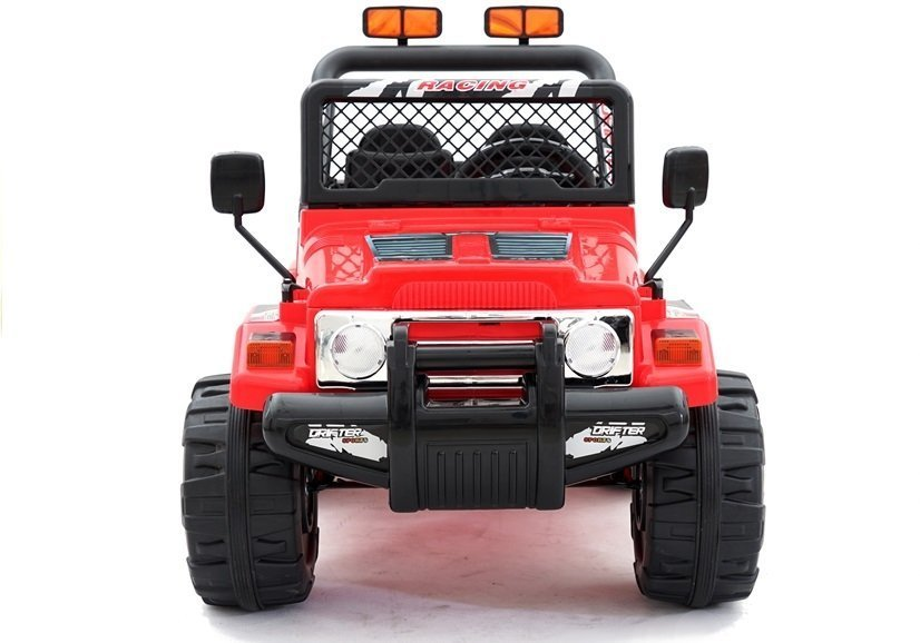 elektroauto f r kinder jeep raptor rot ebay. Black Bedroom Furniture Sets. Home Design Ideas