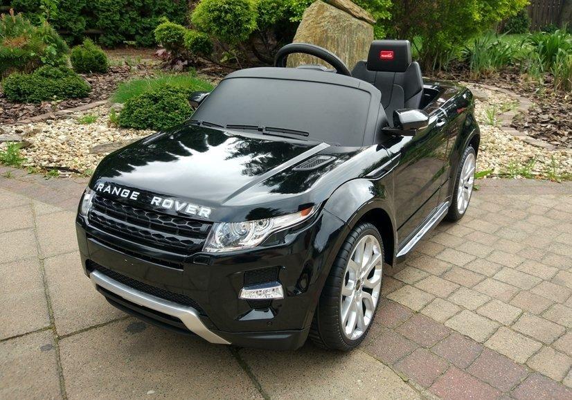 auto na akumulator range rover czarny lakierowany leantoys pl