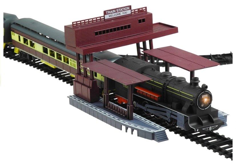 fenfa elektrische eisenbahn lokomotive zug 6 waggons mit