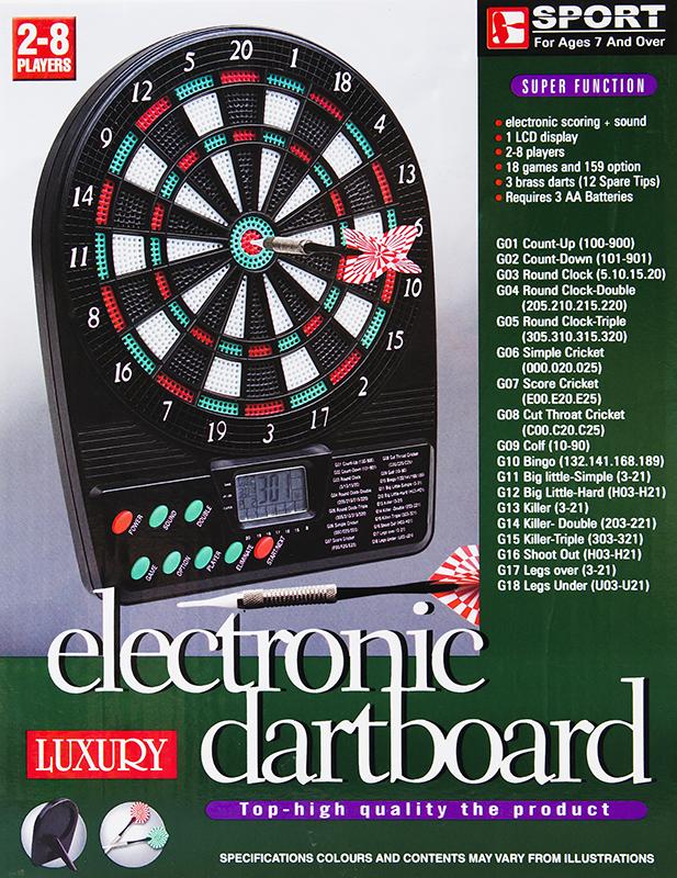 dartscheibe dartboard dart scheibe dartpfeile elektronisch. Black Bedroom Furniture Sets. Home Design Ideas