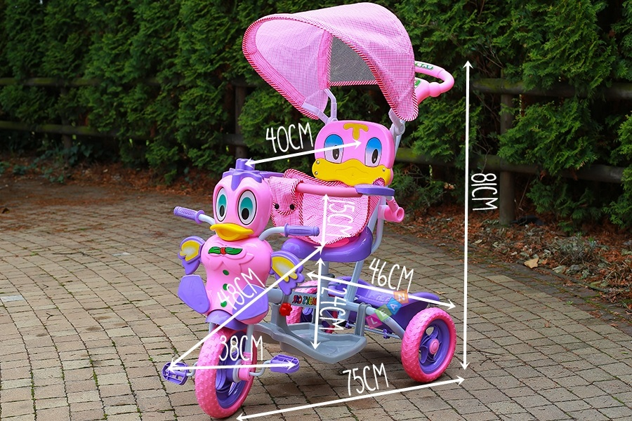 Baby Toddler Child Tricycle Trike Scooter With Sounds