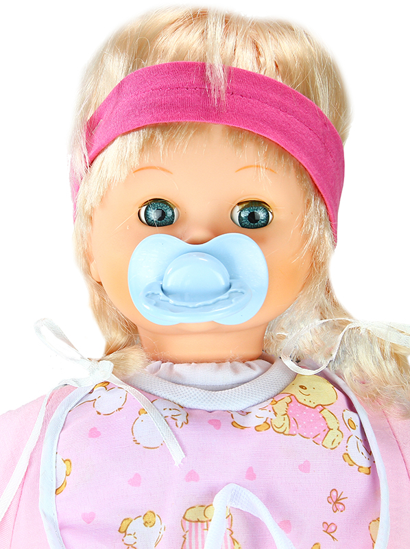 Cute Crying Baby Doll With Accessories Pacifier Lovely