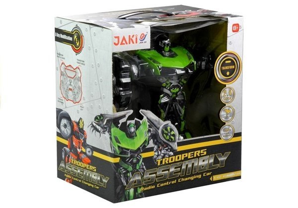 Auto Robot Transformacja Troopers Pilot RC USB