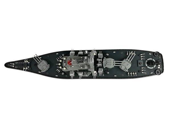 Statek Krążownik Zdalnie Sterowany RC 1:250 2.4G
